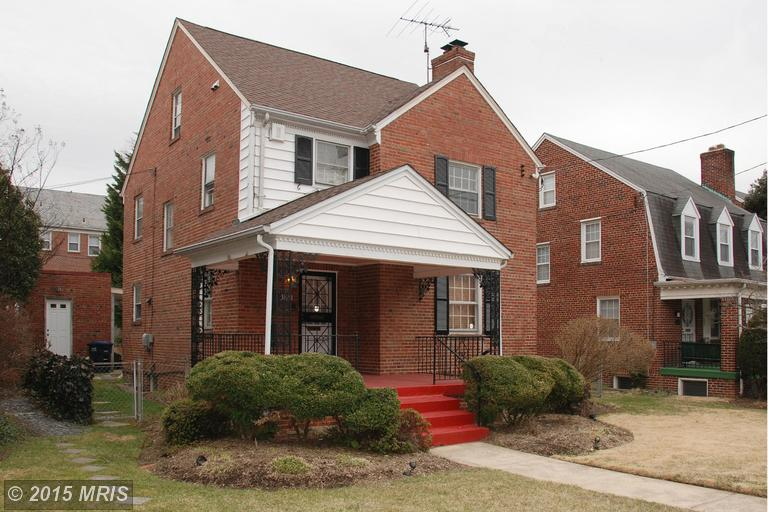 One of 16th Street Heights 3 Bedroom Homes for Sale