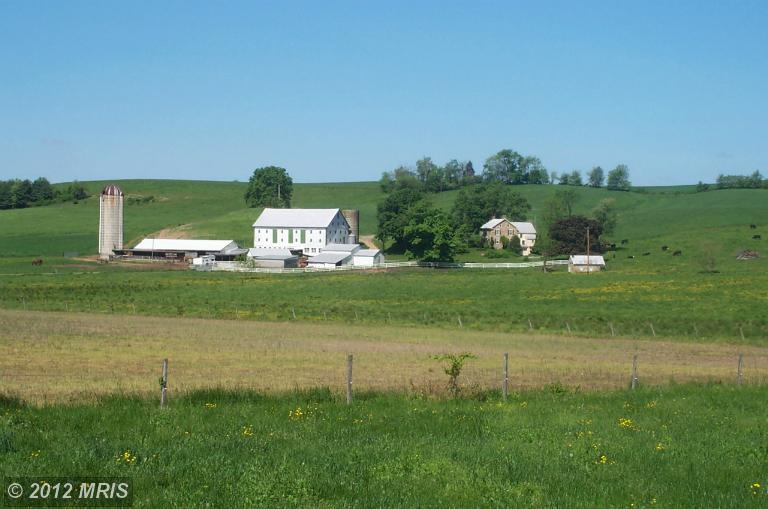 127.76 acres in Mount Airy, Maryland