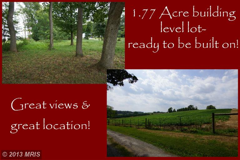 Image of Acreage for Sale near Frederick, Maryland, in Frederick county: 1.77 acres