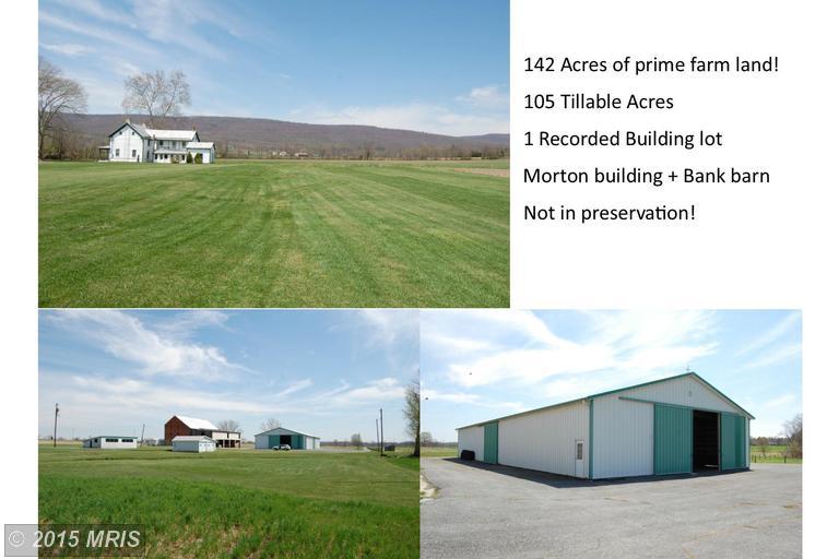 110.84 acres Thurmont, MD