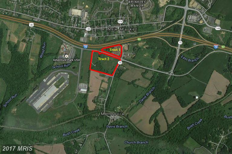 Image of Acreage for Sale near Monrovia, Maryland, in Frederick county: 22.53 acres
