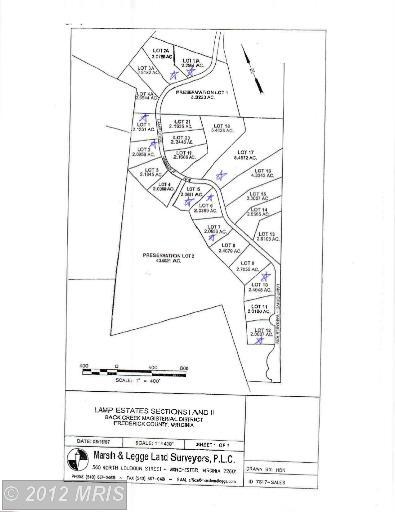 2.1 acres by Gore, Virginia for sale