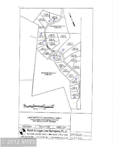 3.08 acres by Gore, Virginia for sale
