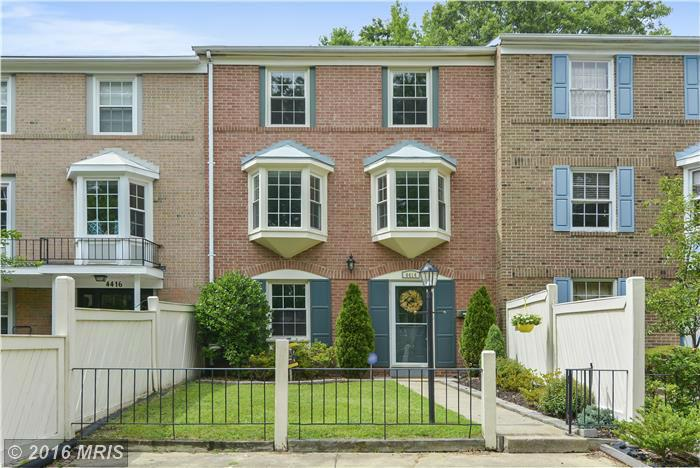 4414 SCARBOROUGH SQUARE, Fort Belvoir in FAIRFAX County, VA 22309 Home for Sale