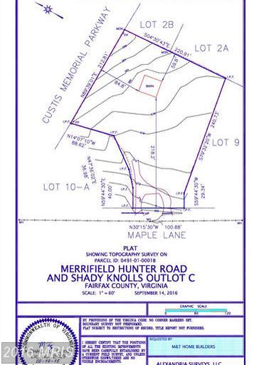 2803 MAPLE LANE, Mantua in FAIRFAX County, VA 22031 Home for Sale