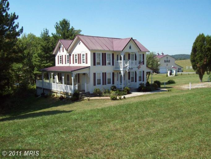 118.3 acres in Friendsville, Maryland