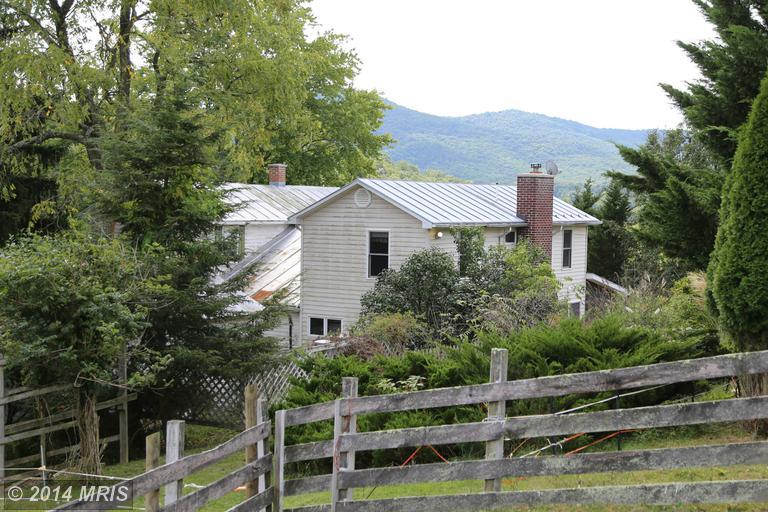 14.38 acres Mathias, WV