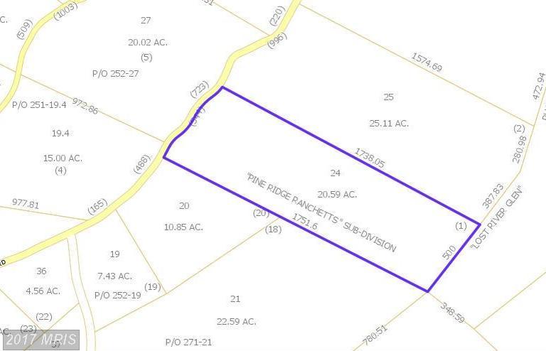 4434 Pine Ridge Rd, Wardensville, WV 26851