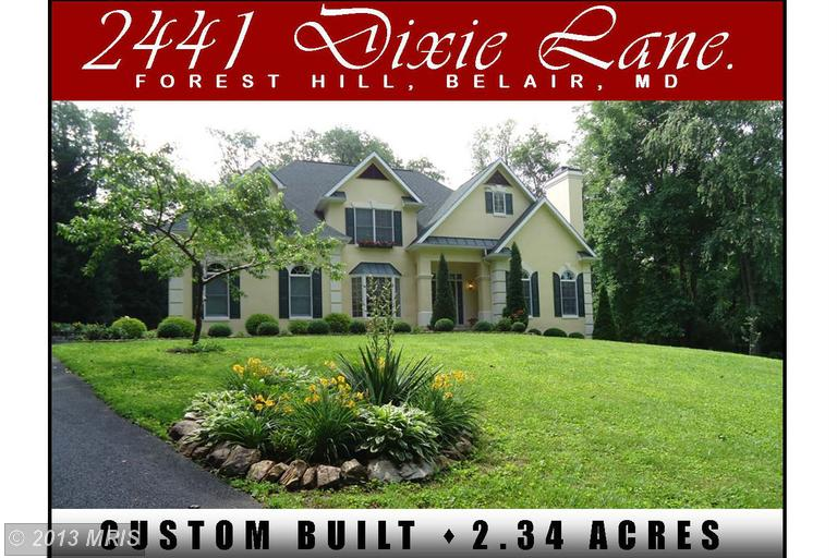 2.35 acres in Forest Hill, Maryland