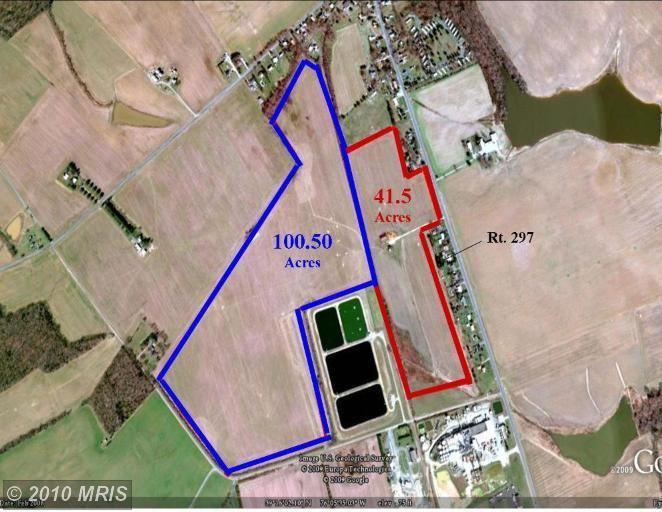 100.5 acres in Worton, Maryland