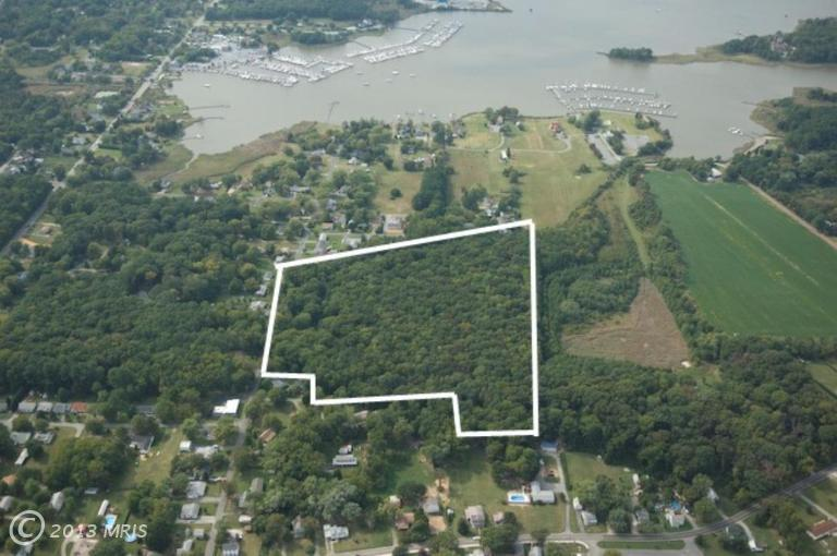 17.18 acres in Rock Hall, Maryland