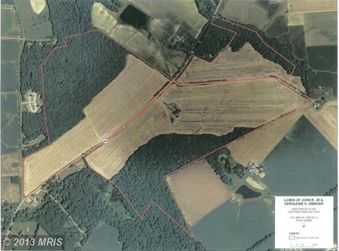 335.16 acres in Chestertown, Maryland