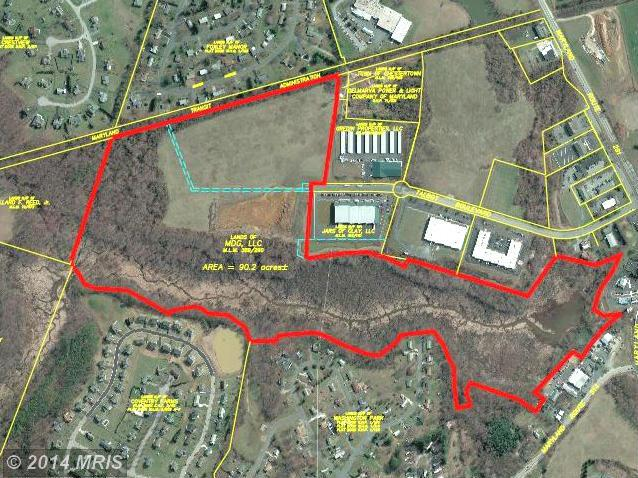 92 acres in Chestertown, Maryland