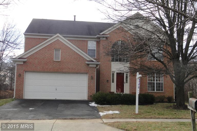 17905 WHEATRIDGE DRIVE, one of homes for sale in Germantown