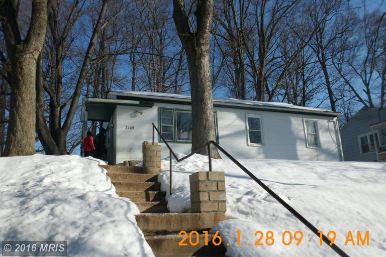 One of Bank Owned homes for sale at 3205 HENDERSON AVENUE
