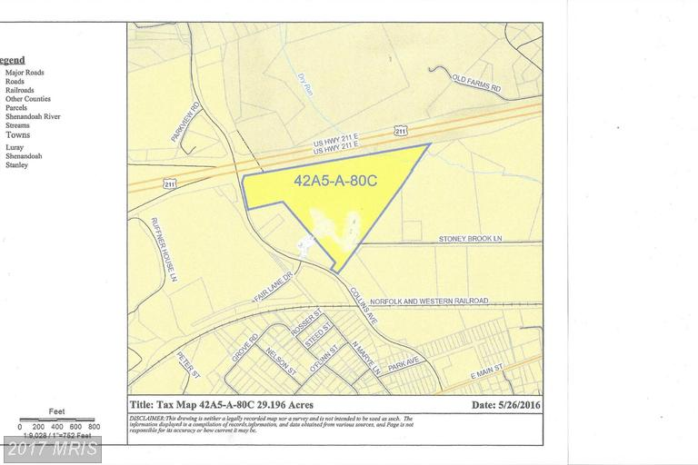Image of Acreage for Sale near Luray, Virginia, in Page county: 29.20 acres