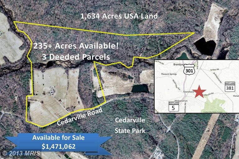 235.37 acres in Brandywine, Maryland