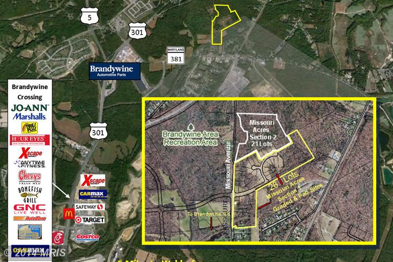 54.07 acres in Brandywine, Maryland