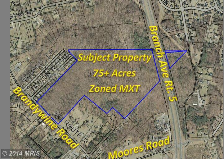 75.28 acres in Brandywine, Maryland