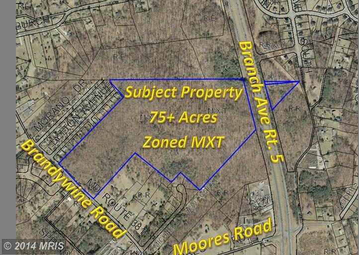 75.28 acres Brandywine, MD