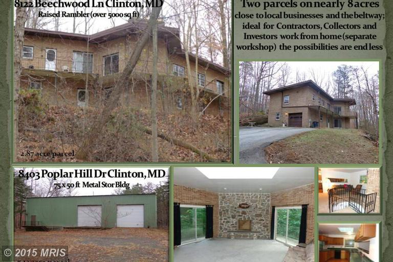 7.99 acres Clinton, MD