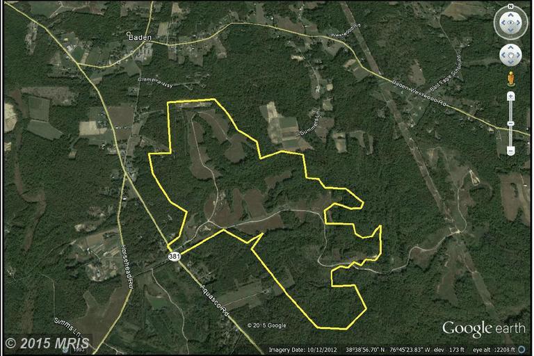 540 acres Brandywine, MD