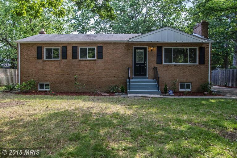 8011 VERNON DRIVE, one of homes for sale in Fort Washington