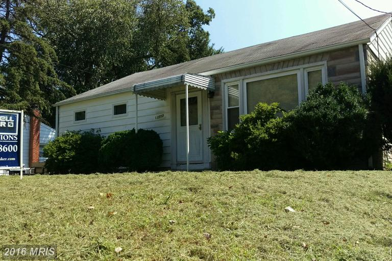 11713 ROBY AVENUE, Beltsville Single Story for Sale