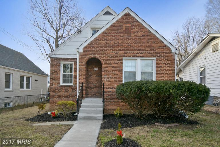 4506 38TH PLACE BRENTWOOD, MD 20722