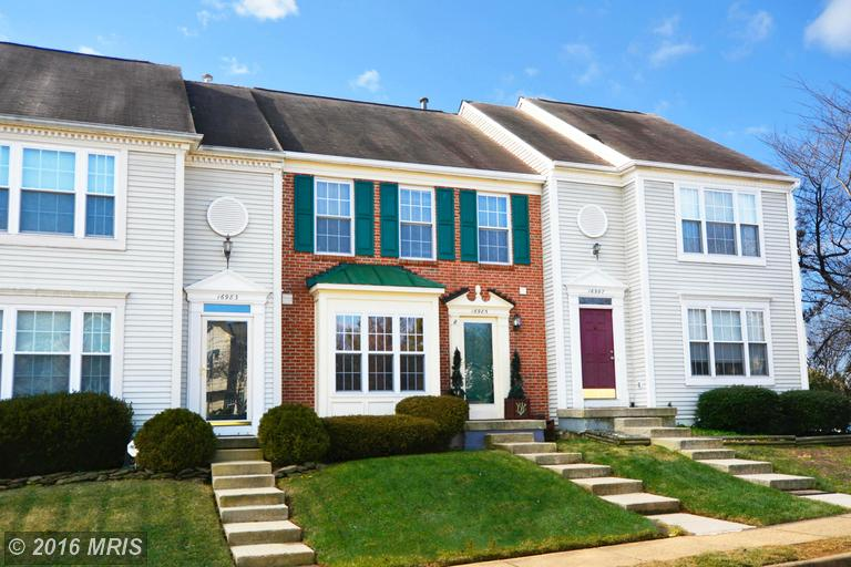 16985 MONMOUTH COURT, Montclair in PRINCE WILLIAM County, VA 22026 Home for Sale