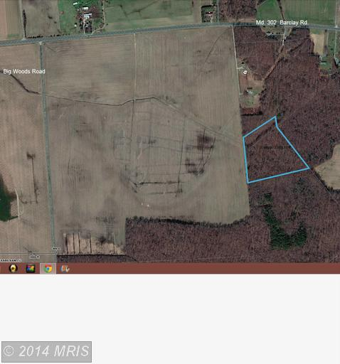 Image of Acreage for Sale near Barclay, Maryland, in Queen Annes county: 11.50 acres