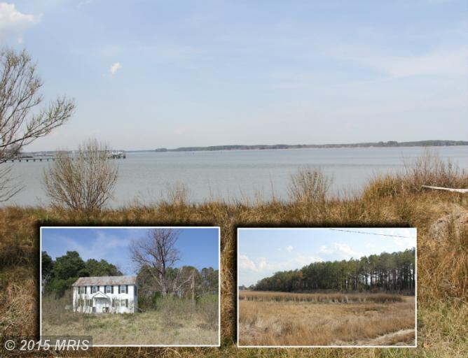 11.28 acres in Piney Point, Maryland