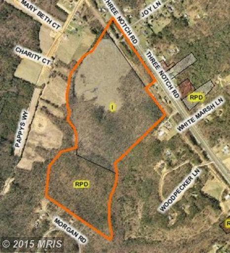 92.55 acres in Hollywood, Maryland