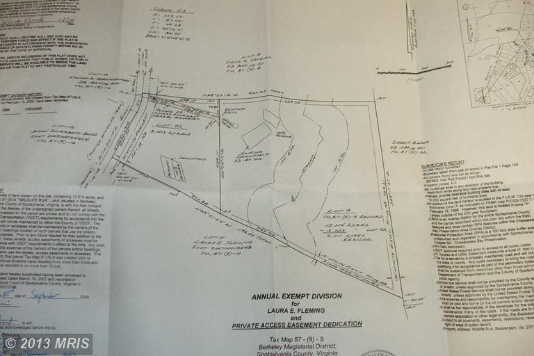 9.01 acres by Beaverdam, Virginia for sale