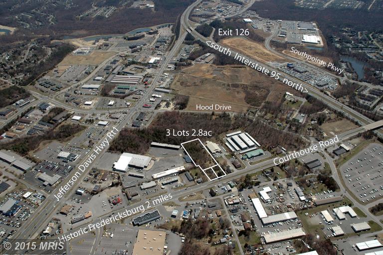 2.8 acres by Fredericksburg, Virginia for sale