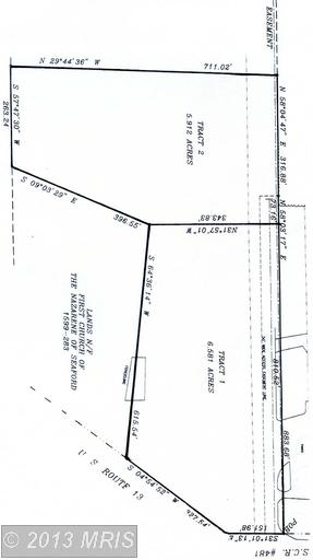 12.5 acres in Seaford, Delaware