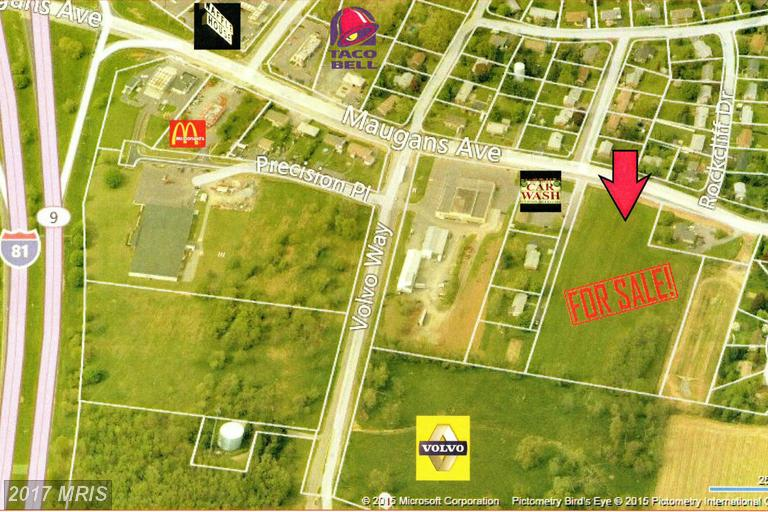 Image of Acreage for Sale near Hagerstown, Maryland, in Washington county: 6.33 acres