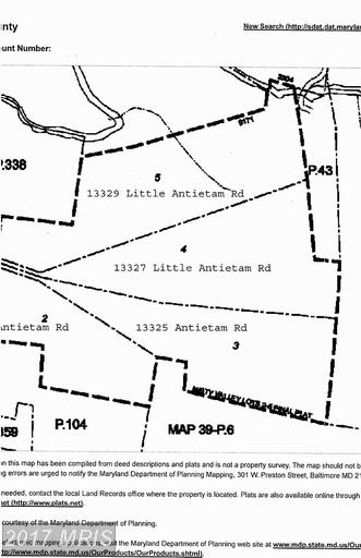 Image of  for Sale near Hagerstown, Maryland, in Washington County: 15.81 acres