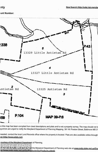Image of  for Sale near Hagerstown, Maryland, in Washington County: 19.73 acres