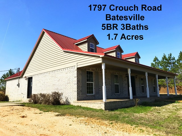 1797 Crouch Rd, Batesville, MS 38606