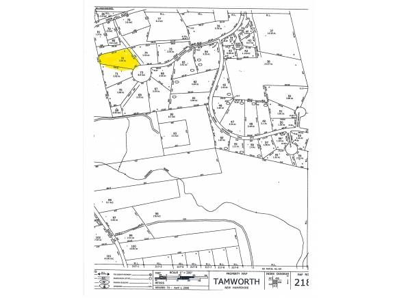 Real Estate for Sale, ListingId: 23712163, Tamworth,NH03886