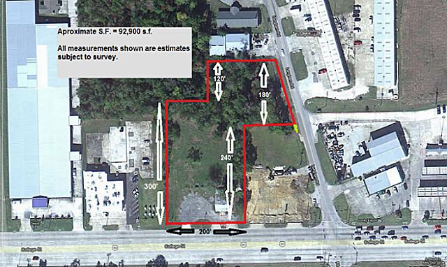 2.11 acres in Beaumont, Texas
