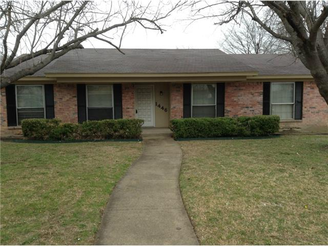 Rental Homes for Rent, ListingId:31513502, location: 1446 Prescott Drive Lancaster 75134