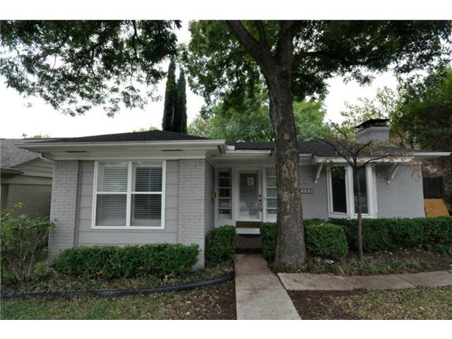 Rental Homes for Rent, ListingId:32227749, location: 2909 University Boulevard University Park 75205