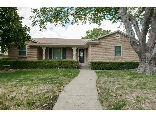 Rental Homes for Rent, ListingId:31287367, location: 8463 Bellingham Drive Dallas 75228