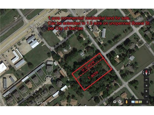 1 acres by Sachse, Texas for sale