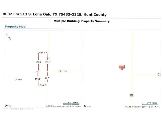 4002 FM 513 S, Lone Oak, TX 75453