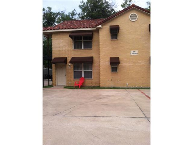 Rental Homes for Rent, ListingId:31628064, location: 3204 S University Drive Ft Worth 76109