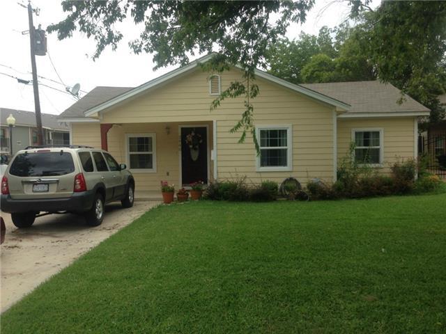 Rental Homes for Rent, ListingId:31628521, location: 2940 S Hills Avenue Ft Worth 76109