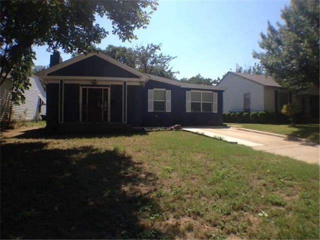Rental Homes for Rent, ListingId:31701830, location: 4913 Birchman Avenue Ft Worth 76107